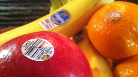 "Millions upon millions of fruit stickers add up to ""sticker shock"" for the consumer waste stream."